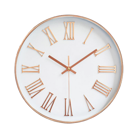 Horloge Scandinave <br> Or rose