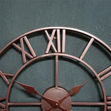 Horloge Industrielle <br> Or Rose