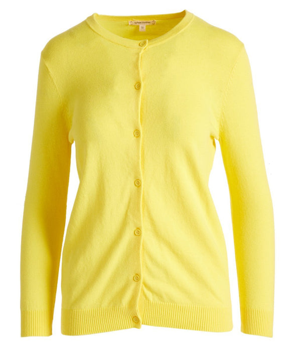 Urban Diction Yellow Cardigan - Women & Plus