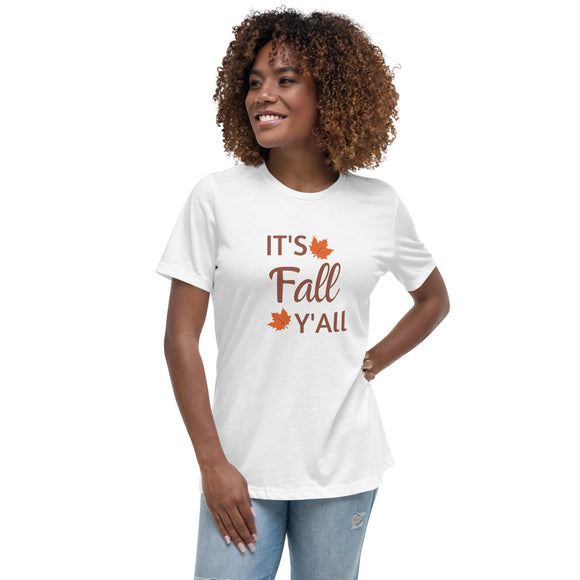 It's Fall women's t-shirt, Pumpkin shirt, Halloween shirt