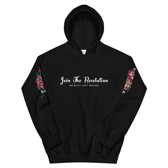 Revolution Hooded Sweatshirt Black