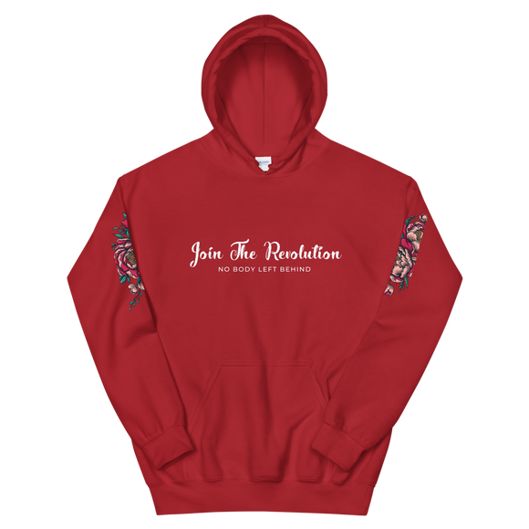 Revolution Hooded Sweatshirt Red