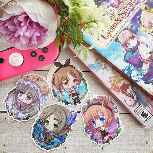Atelier Alchemists Stickers
