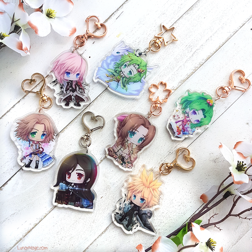 Final Fantasy Charms