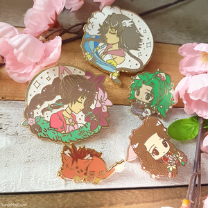 FFVII Magical Girl Aerith Enamel Pin