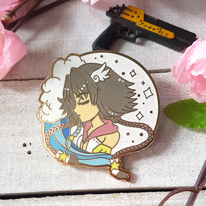 FFX-2 Magical Girl Yuna Enamel Pin