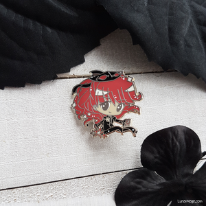 Red Head Thief Enamel Pin