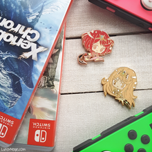 Load image into Gallery viewer, Xenoblade Chronicles 2 Pyra Enamel Pin - Last Chance!