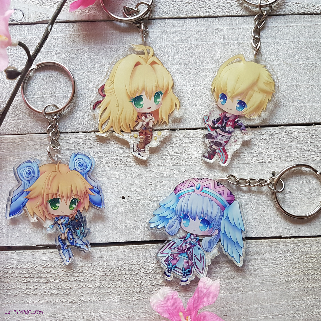 Xenoblade Chronicles Charms
