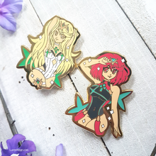 Load image into Gallery viewer, Xenoblade Chronicles 2 Swimsuit Enamel Pins