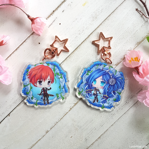 Ys VIII Adol and Dana Charm