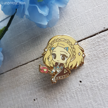 Load image into Gallery viewer, LoZ BotW 2 Zelda Enamel Pin