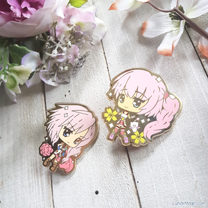 FF Ladies JRPG Cuties Enamel Pins