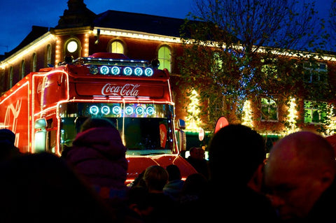 Coca Cola Christmas Truck York