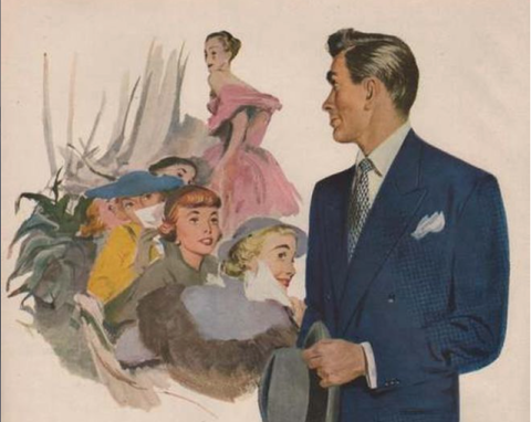 1949 Guide to Suits Book Cover
