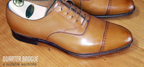 Sanders and Sanders Quarter Brogues