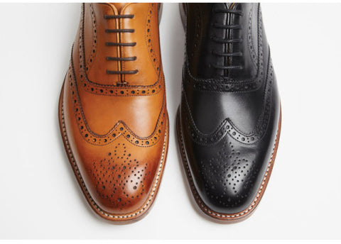 Sanders and Sanders Brogues