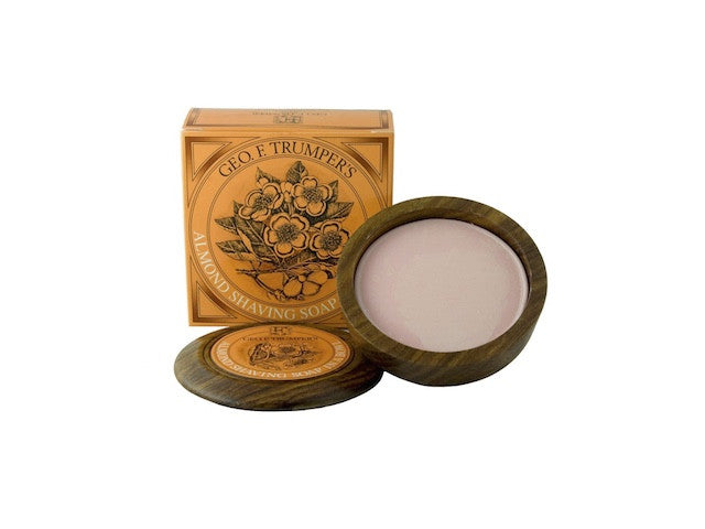 Almond Hard Shaving Soap in a Bowl - 80g