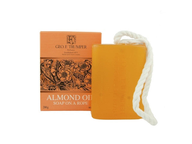 Almond Oil Soap on a Rope - 200g