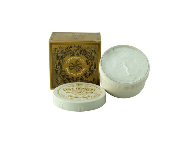 Coconut Oil Shaving Cream Pot - 200g