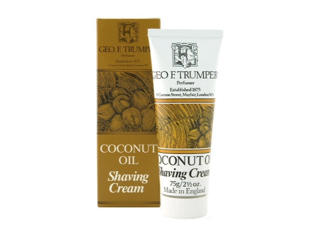 Coconut Oil Soft Shaving Cream Travel Tube - 75g