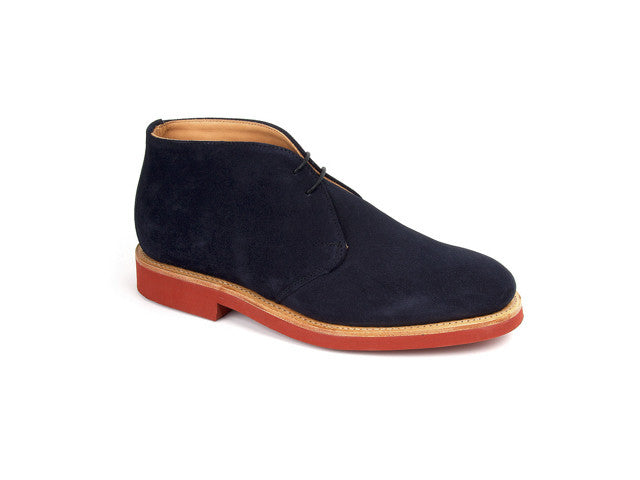 Harry Navy Suede