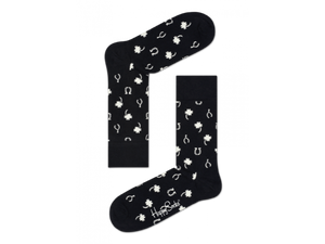 Lucky Sock - Black, White