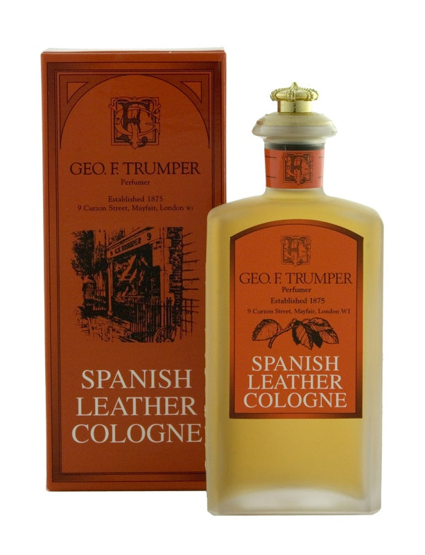 Spanish Leather - 100ml Glass Crown Bottle