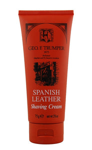 Spanish Leather Soft Shaving Cream Travel Tube - 75g