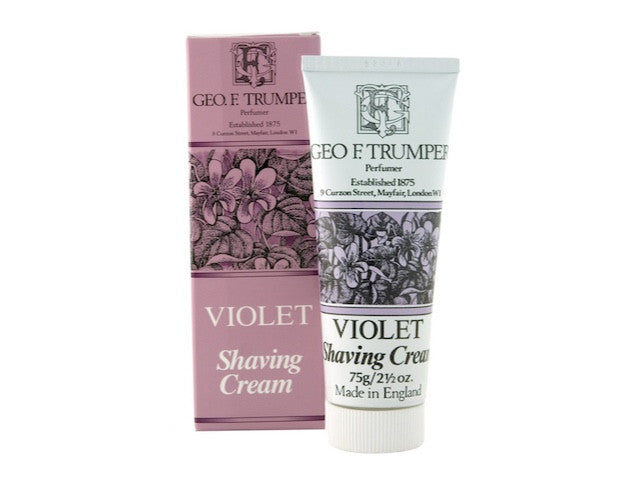 Violet Soft Shaving Cream Travel Tube - 75g