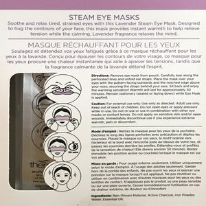 Therawell Steam Eye Masks