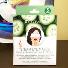 Load image into Gallery viewer, Therawell Steam Eye Masks