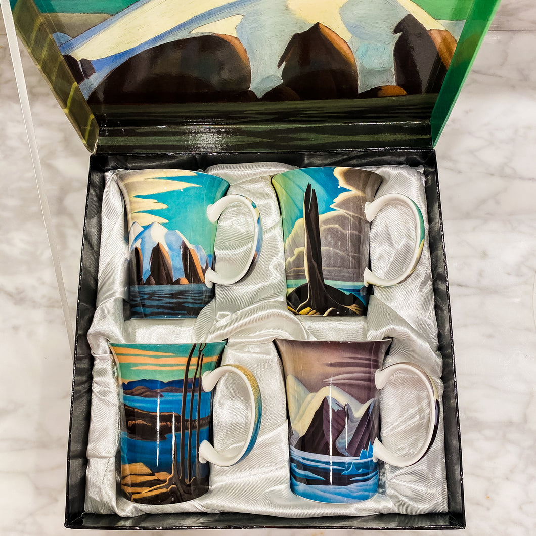 Set of Mugs - Canadian Masters Lawren S. Harris