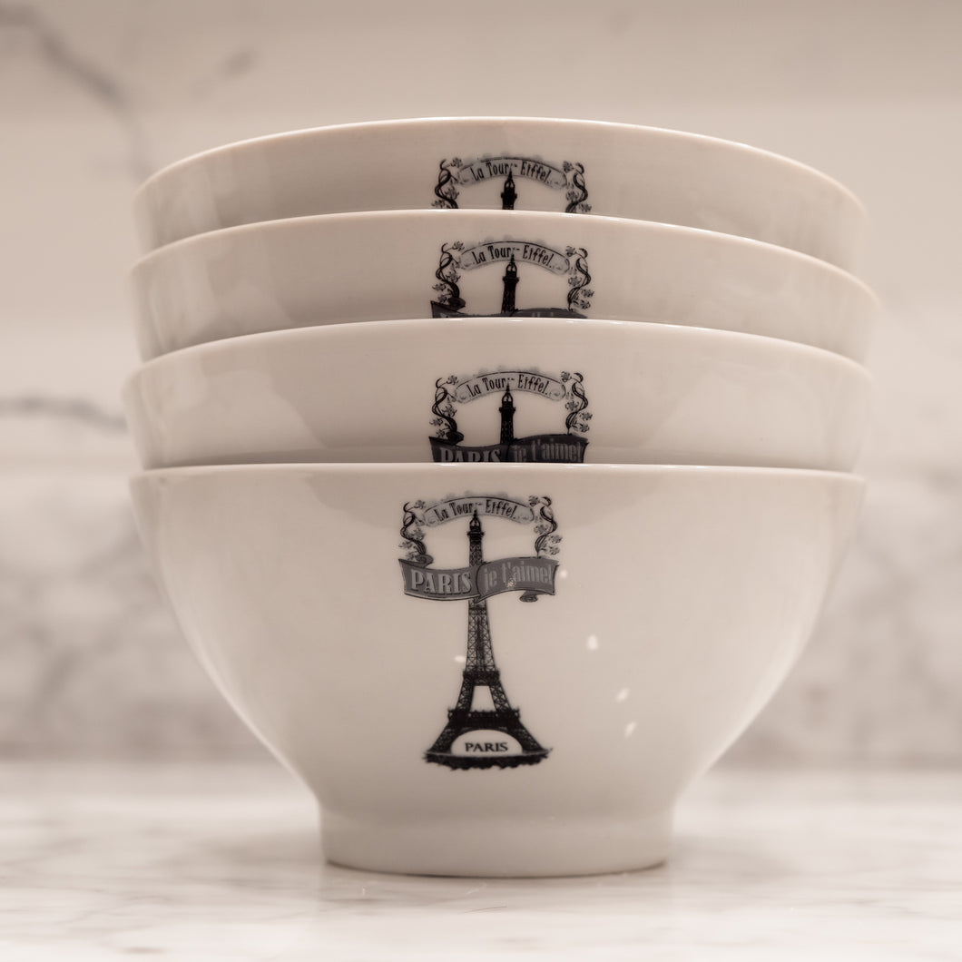 Paris Bowls with Gift Box