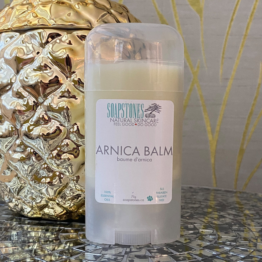 Soapstones Arnica Balm for Muscle Pain