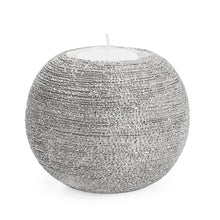 Load image into Gallery viewer, Spun Textured Tealight Holder