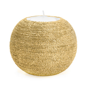 Spun Textured Tealight Holder