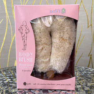 Jute Body Brush