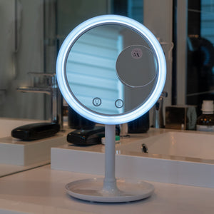LED Make-Up Mirror with Cooling Fan