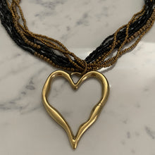 Load image into Gallery viewer, Beads Beaten Heart Necklace