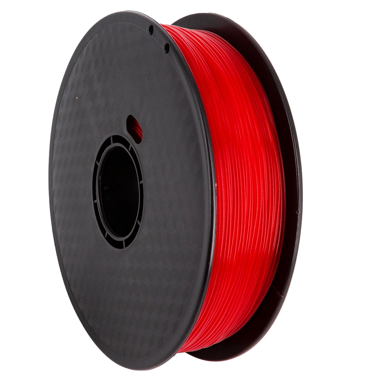 Filament PLA Premium ROUGE TRANSPARENT - 1Kg / 1.75mm