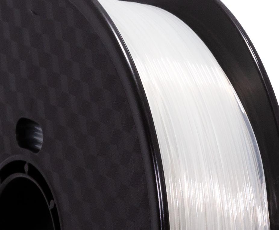 Filament PETG Transparent Premium - 1.75mm, 1 Kg