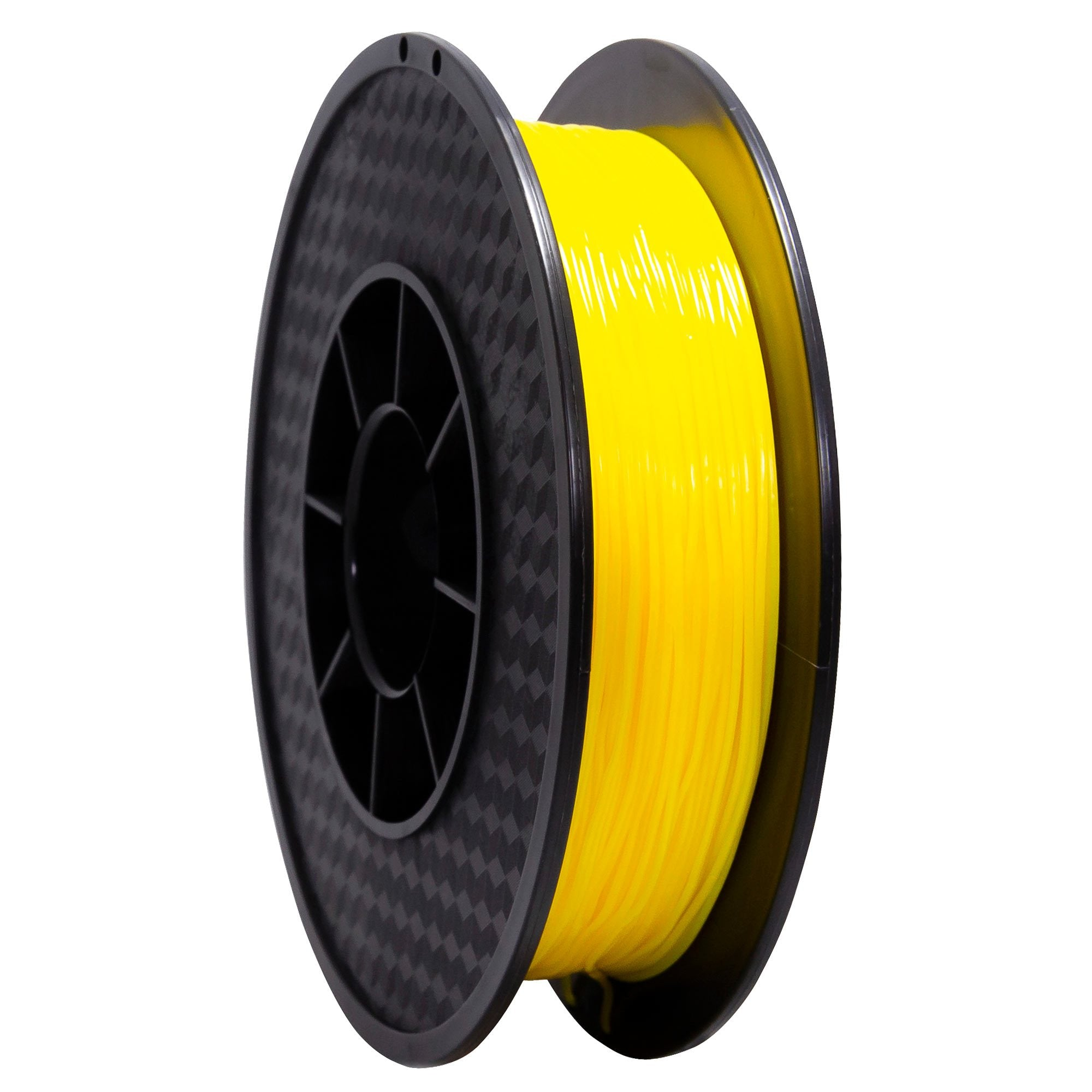 Filament TPU flexible Jaune 95A Premium - 1.75mm, 0.5 Kg