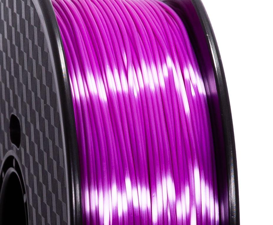 Filament PLA Silk Violet Premium - 1.75mm, 1 Kg