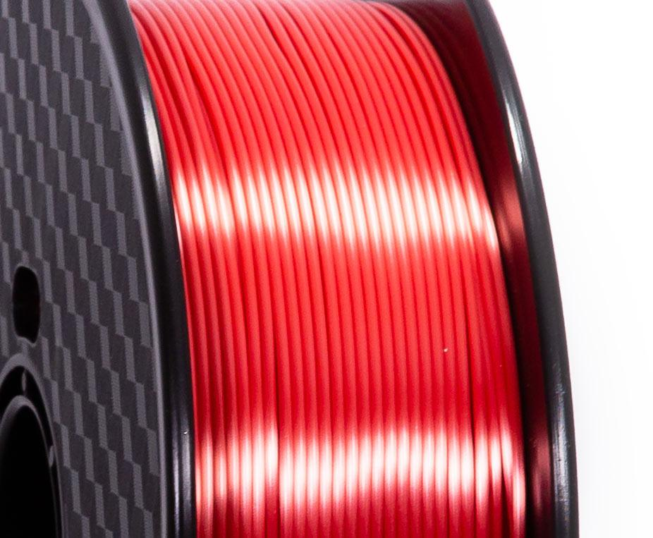 Filament PLA Silk Rouge Premium - 1.75mm, 1 Kg