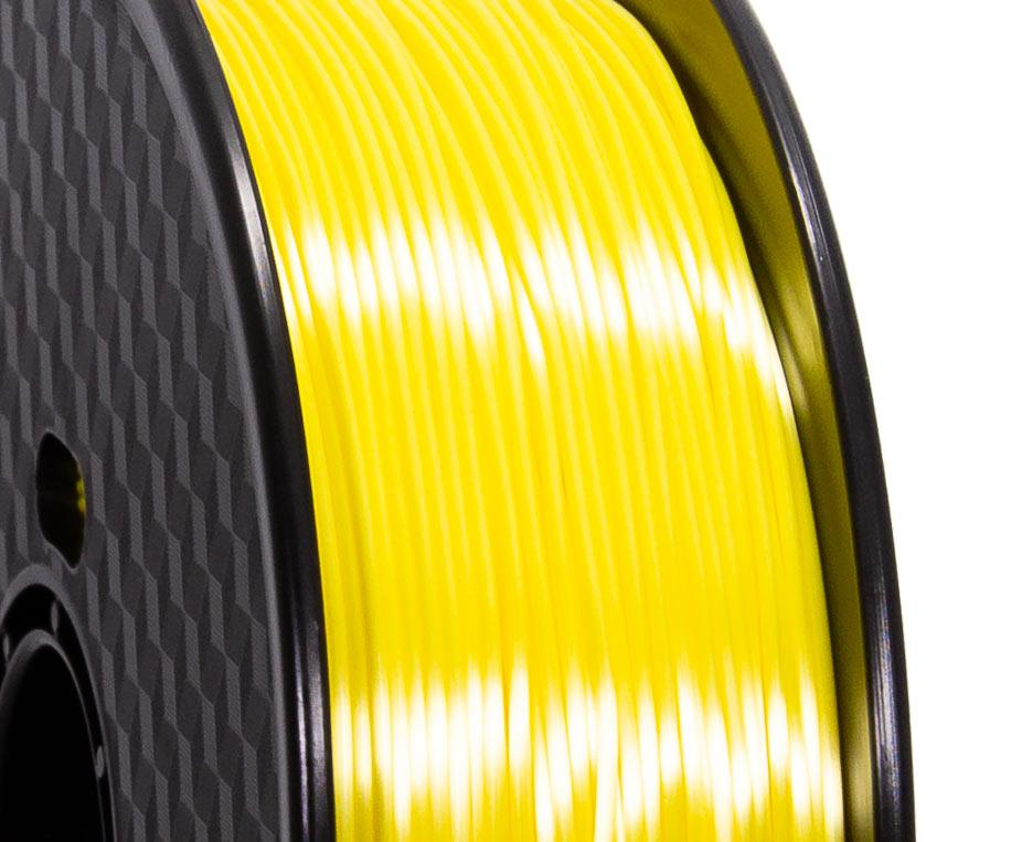 Filament PLA Silk Jaune Premium - 1.75mm, 1 Kg