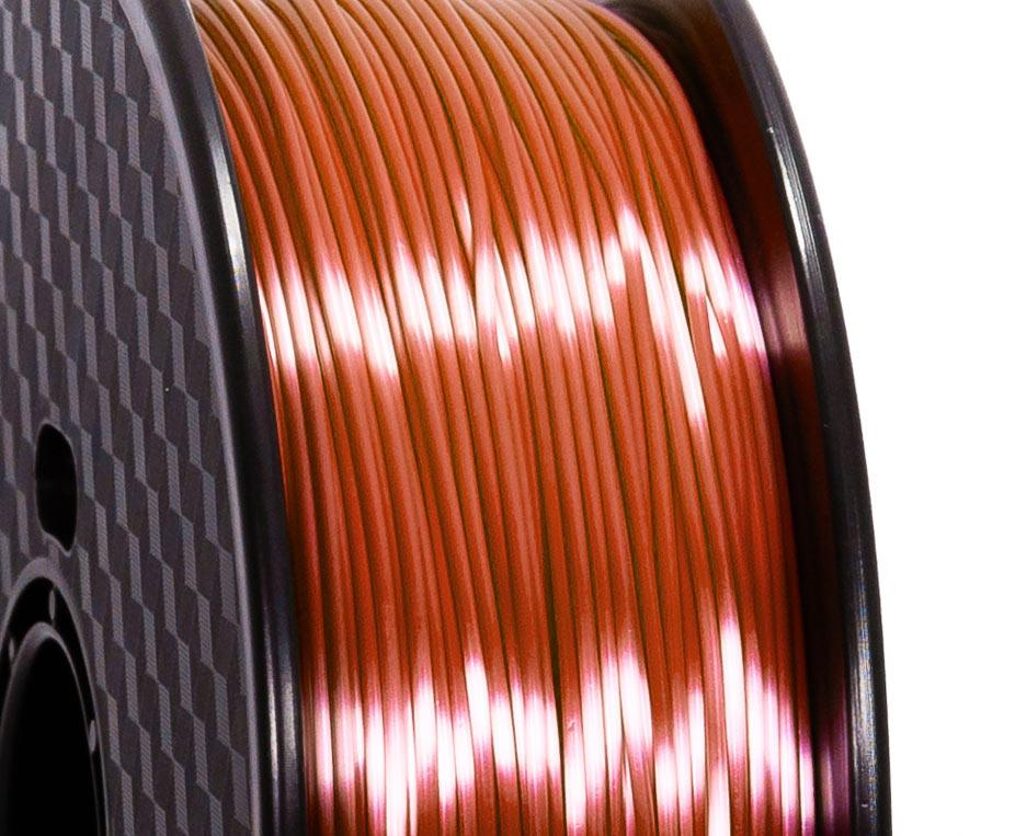 Filament PLA Silk Marron Premium - 1.75mm, 1 Kg