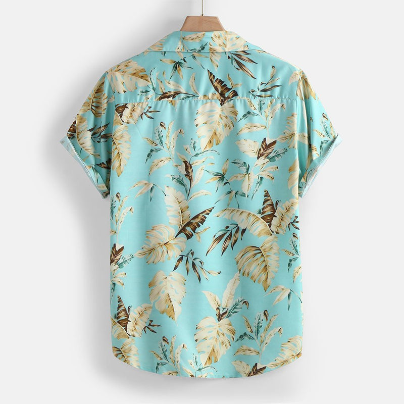 Camisa Curta Hawaii