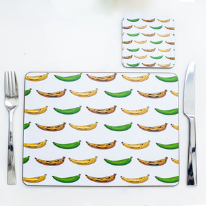 4 PLANTAIN PLACEMATS & COASTERS