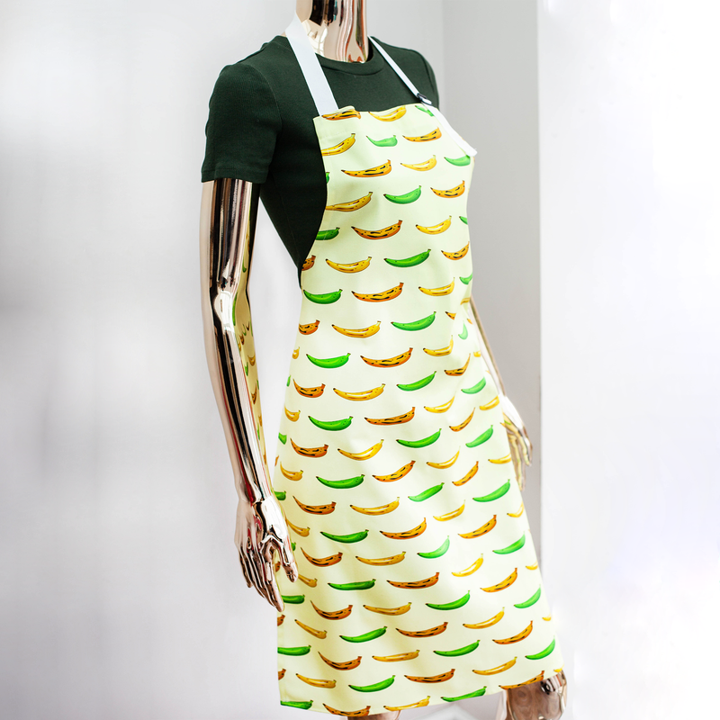 APRON PLANTAIN YELLOW